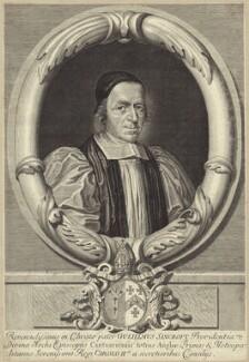 William Sancroft, by David Loggan, published 1680 - NPG D30879 - © National Portrait Gallery, London