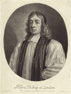 Henry Compton, by Isaac Beckett, after  John Riley, published by  John Smith - NPG D30884