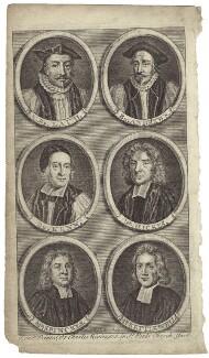 Ecclesiastics, by Michael Vandergucht, early 18th century - NPG D30892 - © National Portrait Gallery, London