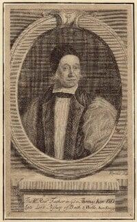 Thomas Ken, by George Vertue, after  F. Scheffer - NPG D30895