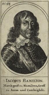 James Hamilton, 1st Duke of Hamilton, after Unknown artist - NPG D33012