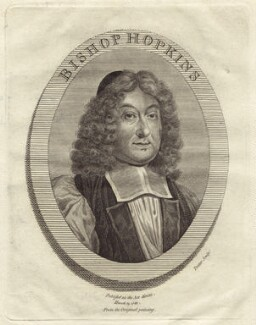 Ezekiel Hopkins, by Thomas Trotter - NPG D30906