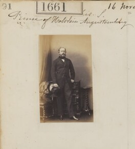 Frederick VIII, Duke of Schleswig-Holstein-Sonderburg-Augustenburg, by Camille Silvy - NPG Ax51053