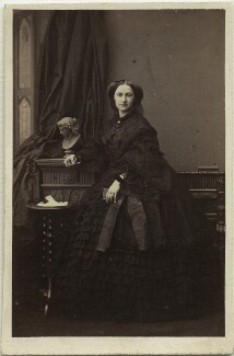 Princess Adelheid of Hohenlohe-Langenburg, by Camille Silvy - NPG x131717