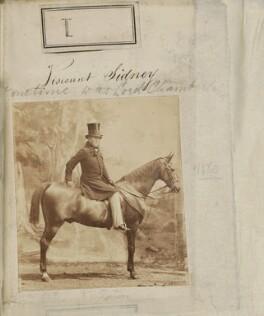 John Robert Townshend, 1st Earl Sydney, by Camille Silvy - NPG Ax50001