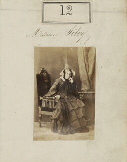 Marie-Louise Silvy (née Pied), by Camille Silvy - NPG Ax50009