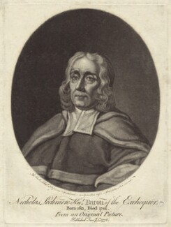 Sir Nicholas Lechmere, by Valentine Green, after  George Powle - NPG D30926