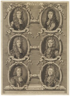 The Portsmouth Captains, by Robert White - NPG D30932
