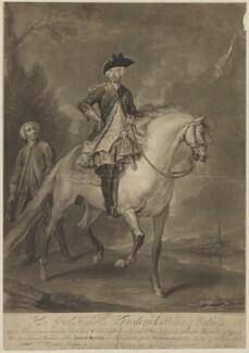 Frederick Lewis, Prince of Wales; Thomas Bloodworth, by John Faber Jr, after  Bartholomew Dandridge, 1740 - NPG D33034 - © National Portrait Gallery, London