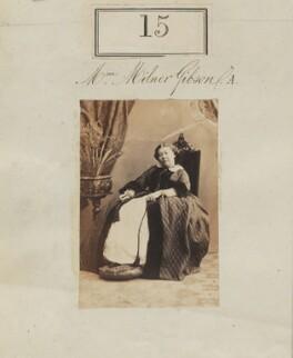 (Susannah) Arethusa Gibson (née Cullum), by Camille Silvy - NPG Ax50012