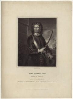 John Benbow, by William Henry Mote, after  Sir Godfrey Kneller, Bt - NPG D30944