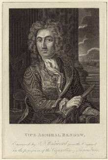 John Benbow, by J.T. Wedgwood, after  Unknown artist - NPG D30945