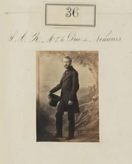 Louis Charles Philippe Raphaël d'Orléans, duc de Nemours, by Camille Silvy - NPG Ax50028