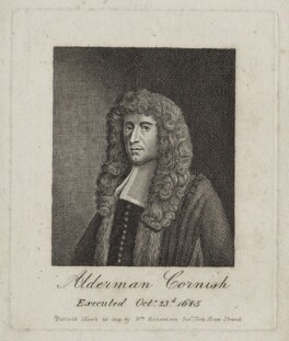 Henry Cornish, after Unknown artist, published by  William Richardson - NPG D30963
