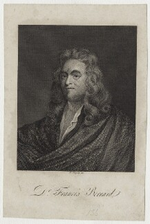 Francis Bernard, by William Angus, after  Unknown artist - NPG D30965