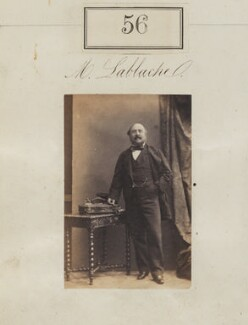Frederick Lablache, by Camille Silvy - NPG Ax50048