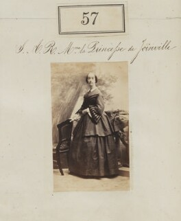 Princess Francisca of the Empire of Brazil (later Princess of Joinville), by Camille Silvy, 1860 - NPG Ax50049 - © National Portrait Gallery, London