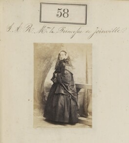 Princess Francisca of the Empire of Brazil (later Princess of Joinville), by Camille Silvy, 1860 - NPG Ax50050 - © National Portrait Gallery, London
