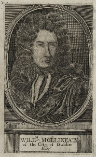 William Molyneux, by Philip Simms, after  Unknown artist - NPG D30976