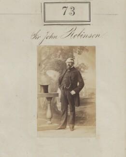 Sir John Stephen Robinson, 3rd Bt, by Camille Silvy - NPG Ax50061