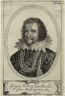 George Villiers, 1st Duke of Buckingham, after Michiel Jansz. van Miereveldt - NPG D33052
