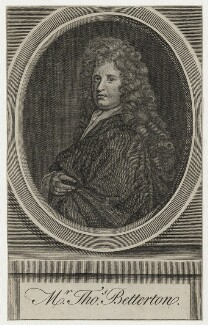 Thomas Betterton, after Sir Godfrey Kneller, Bt - NPG D30986