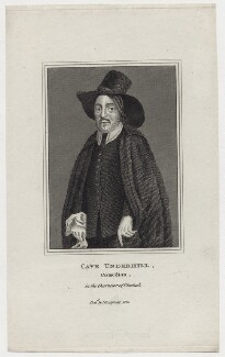 Cave Underhill, after Unknown artist, published by  James Caulfield - NPG D30992
