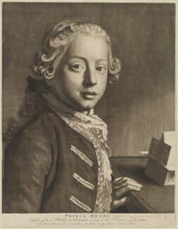 Henry Frederick, Duke of Cumberland and Strathearn, after Jean Etienne Liotard, circa 1750 - NPG D33038 - © National Portrait Gallery, London