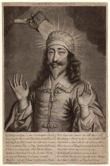 King Charles I, by William Faithorne Jr, published by  Edward Cooper - NPG D30993