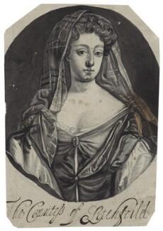 Charlotte Lee (née Fitzroy), Countess of Lichfield, after Sir Godfrey Kneller, Bt - NPG D30998