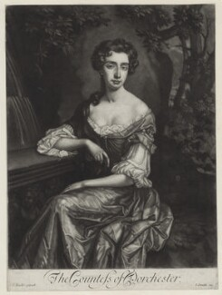 Catherine Sedley, Countess of Dorchester, published by John Smith, after  Sir Godfrey Kneller, Bt - NPG D31003