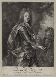 Henry Scott, 1st Earl of Deloraine, by William Faithorne Jr, after  John Closterman, published by  Edward Cooper - NPG D31004