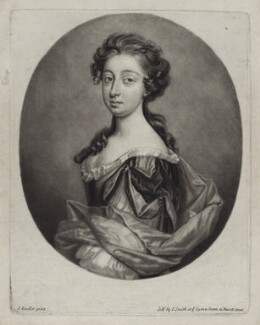 Madam Baker, by John Smith, after  Sir Godfrey Kneller, Bt - NPG D31016