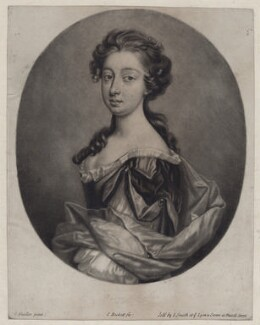 Madam Baker, by John Smith, after  Sir Godfrey Kneller, Bt - NPG D31017