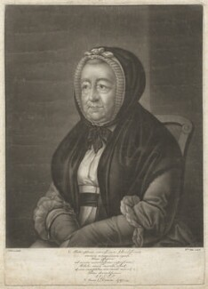 Mary Chelsum (née Ward), by William Pether, after  S. Elmer - NPG D33057