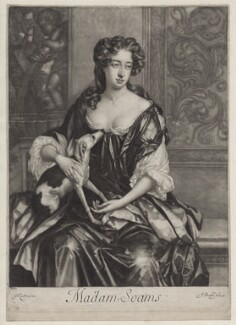 Joan Soame (née Shute), by Isaac Beckett, after  Sir Godfrey Kneller, Bt - NPG D31019