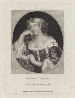 Arabella Godfrey (née Churchill), by William Pengree Sherlock, published by  Edward Evans, after  Silvester Harding - NPG D31023