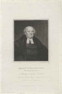 Thomas Cherry, by Edward Scriven, after  Samuel Drummond - NPG D33060