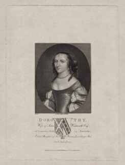 Dorothy Wentworth (née Leventhorpe), published by Robert Wilkinson - NPG D31028