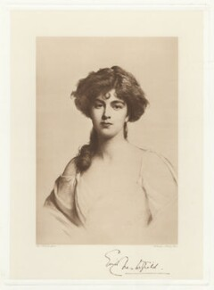 Enid Edith Scudamore-Stanhope (née Wilson), Countess of Chesterfield, by Frederick John Jenkins, after  Ellis William Roberts - NPG D33072