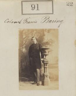 Francis Baring, by Camille Silvy - NPG Ax50074