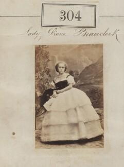 Diana de Vere (née Beauclerk), Lady Huddleston, by Camille Silvy - NPG Ax50083