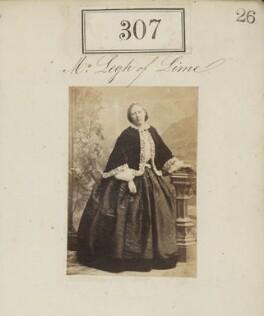 Emily Jane Legh (née Wodehouse), Lady Newton, by Camille Silvy - NPG Ax50085