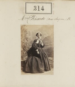 Matilda Mawdsley Ricardo (née Hensley), by Camille Silvy - NPG Ax50090