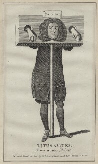 Titus Oates, after Unknown artist - NPG D31036