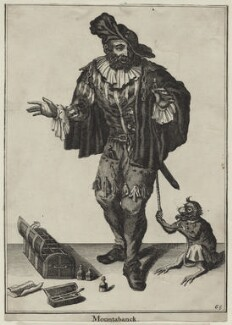 Hans Buling, after Marcellus Laroon, published by  Pierce Tempest - NPG D31037
