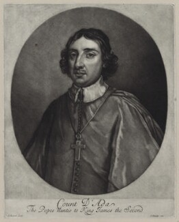 Count Ferdinando d'Ada, by Isaac Beckett, published by  John Smith - NPG D31050