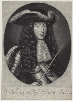King William III, by Jacob Gole, after  Willem Wissing - NPG D31053
