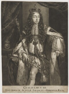 King William III, published by Nicolaes Visscher II, after  Unknown artist - NPG D31054