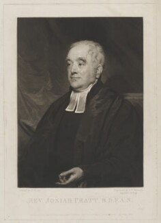 Josiah Pratt, by Samuel William Reynolds, published by  Dobbs & Co, after  Henry Wyatt - NPG D9240